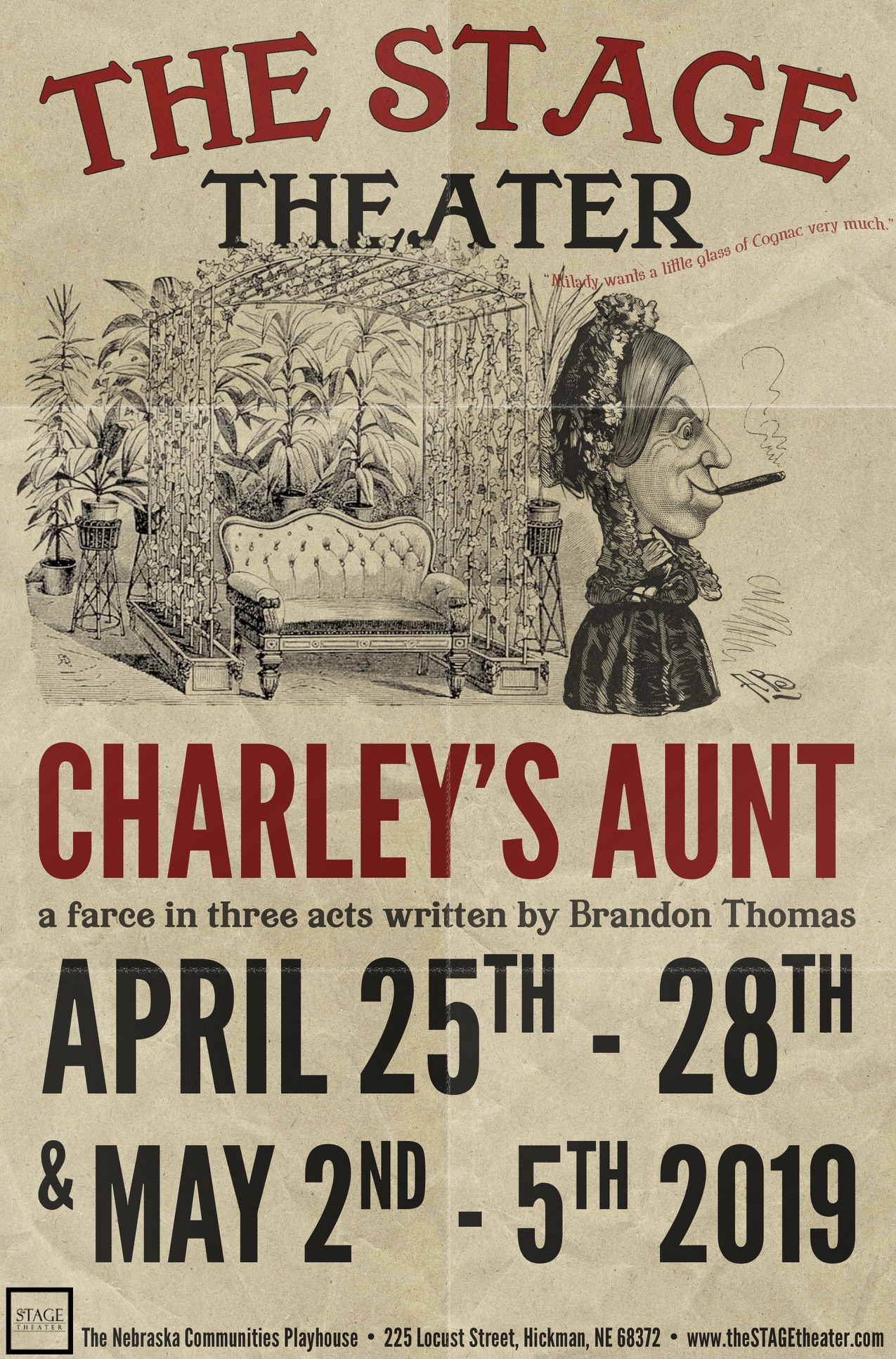 Charley's Aunt PRESS