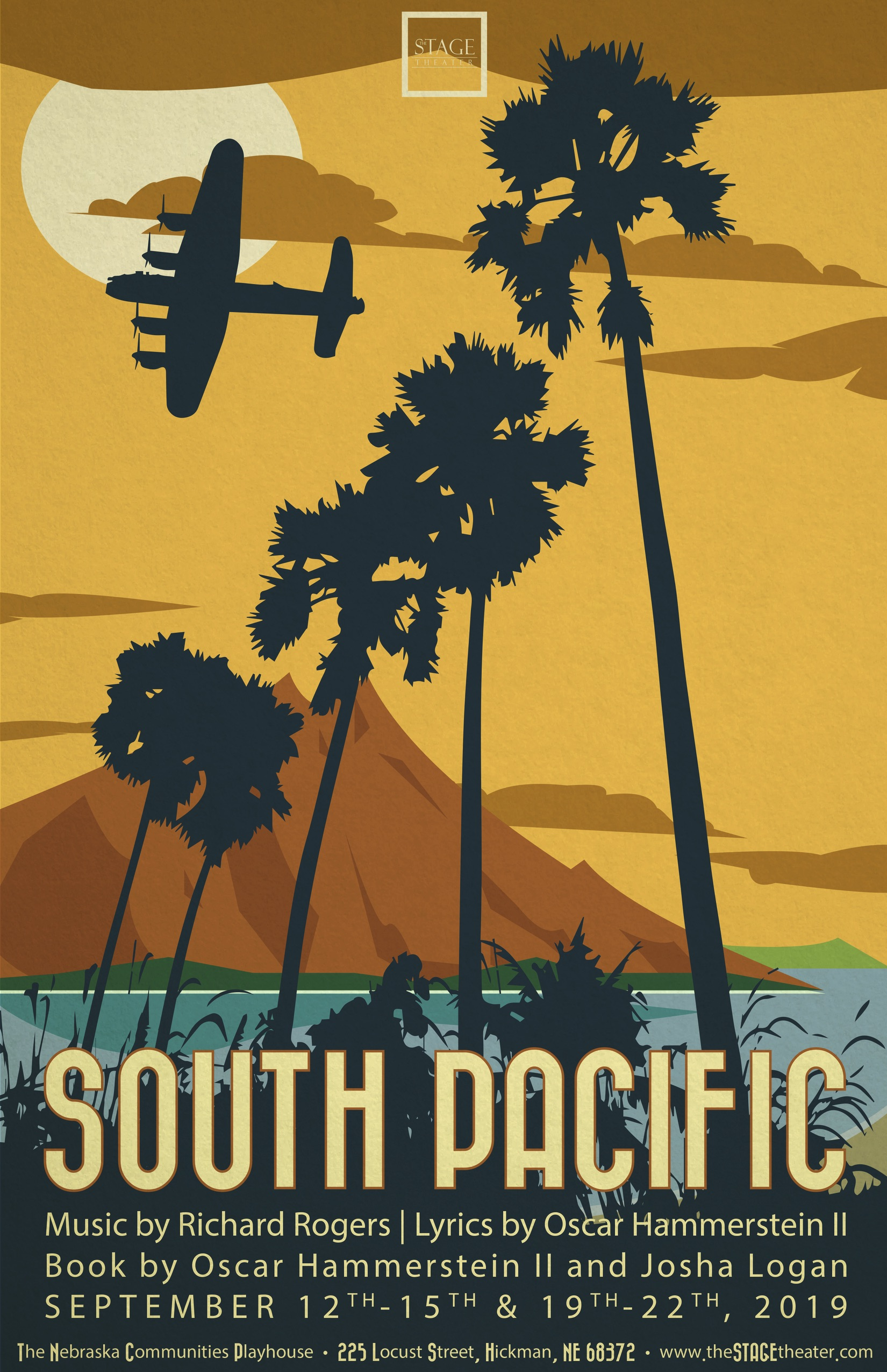 South Pacific 11x17 PRESS