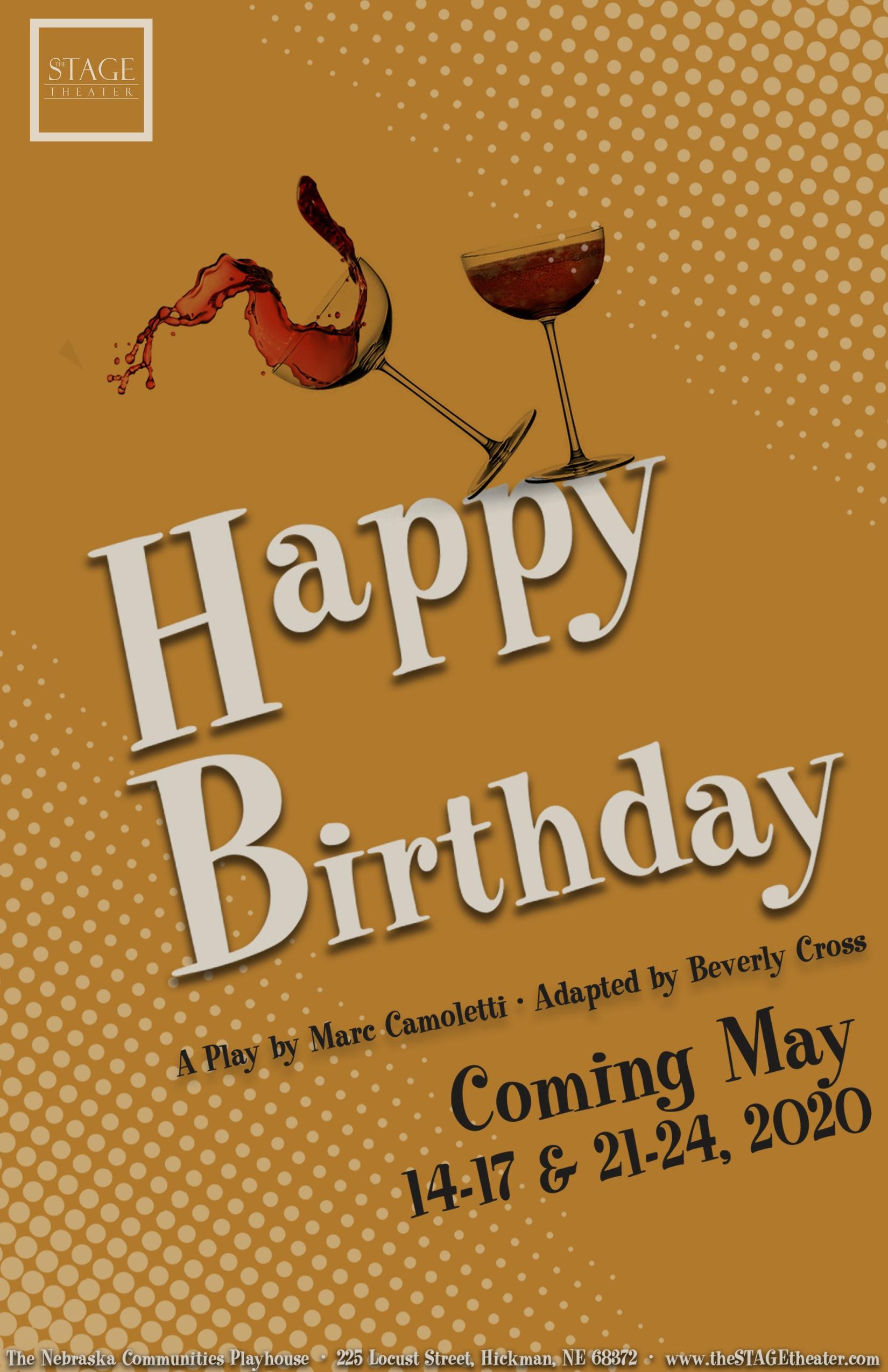 Happy Birthday Poster 11x17