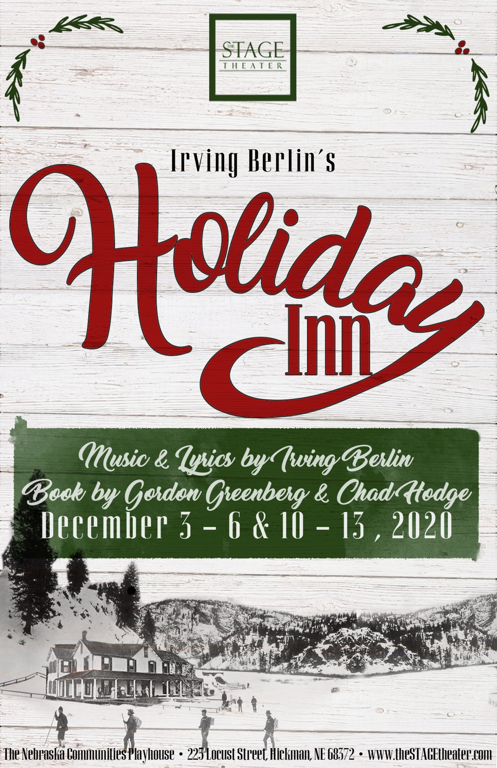 Holiday Inn Poster 11x17