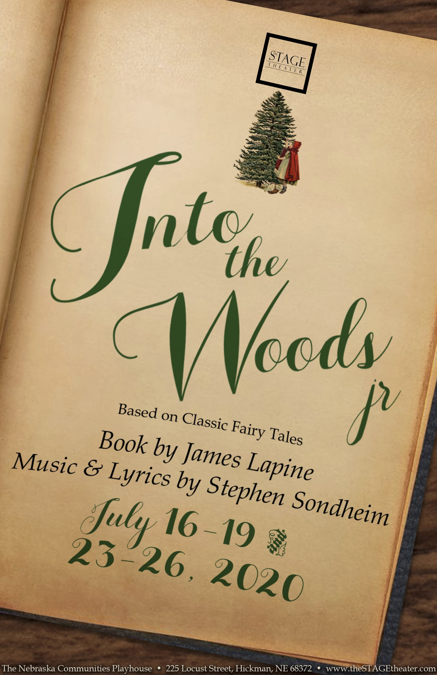 Into the Woods Jr Poster 11x17